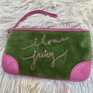 Vintage Juicy Couture wristlet
